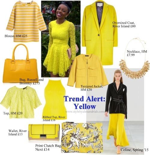 Trend yellow